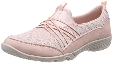 064b5e41d6e Skechers Empress Wide Awake Womens Slip On Sneakers Pink 5.5