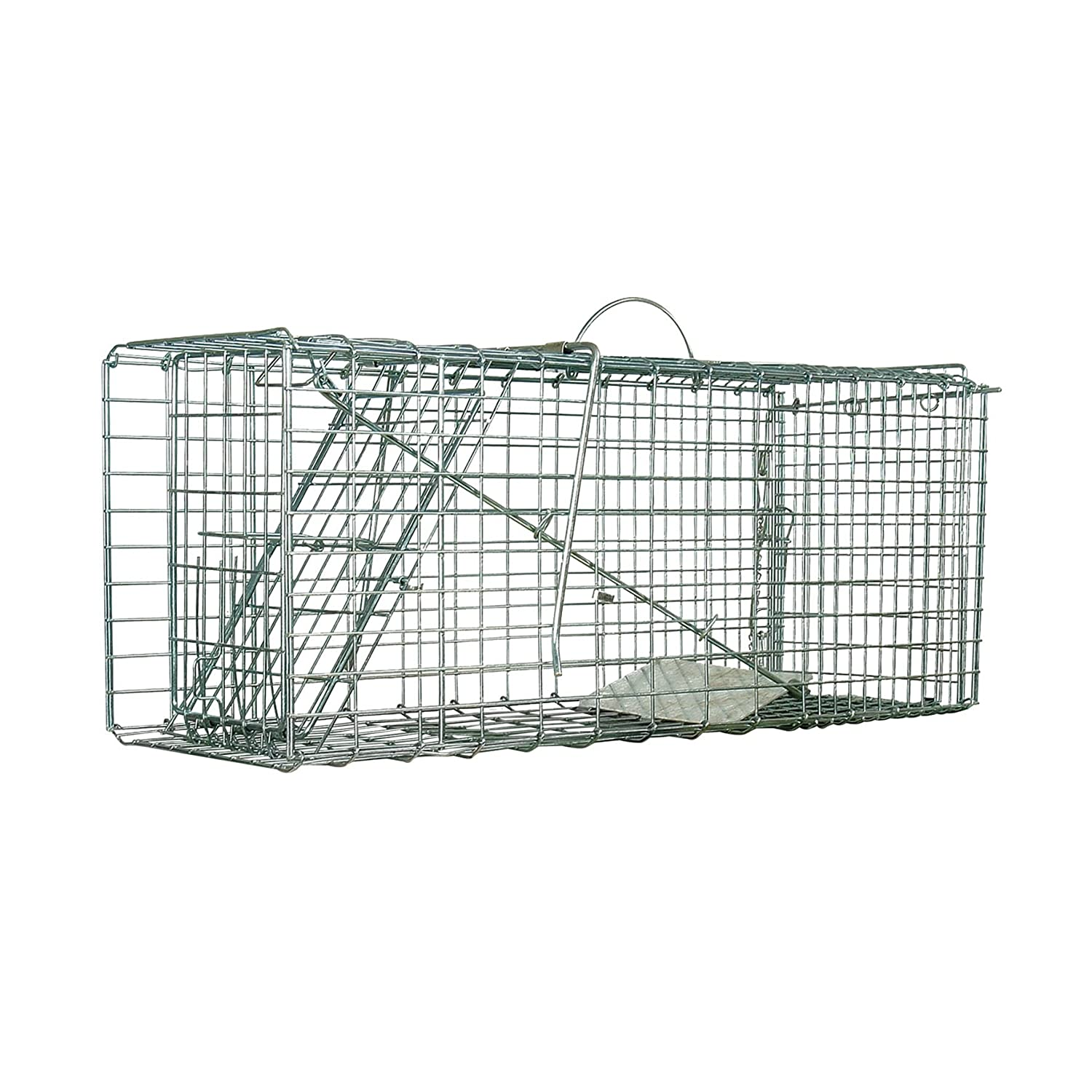 Defenders Animal Trap Cage (Easy to Set Humane Trap for Rabbits ...
