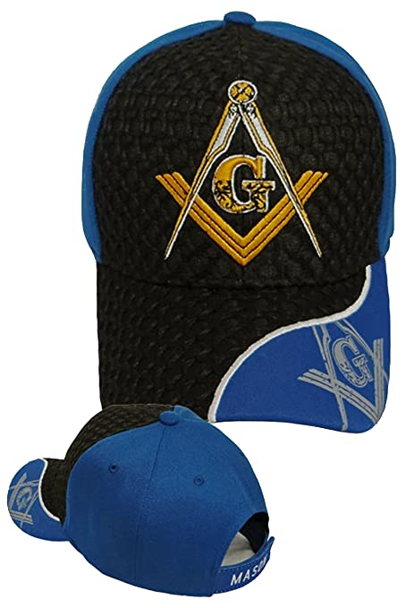15929481910 Image Unavailable. Image not available for. Color  Buy Caps and Hats MASON BASEBALL  CAP Freemason Mens Black Hat