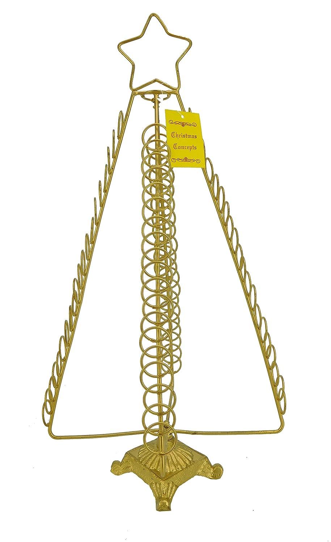 Amazon.com: Christmas Concepts 50cm Gold Christmas Tree Free ...