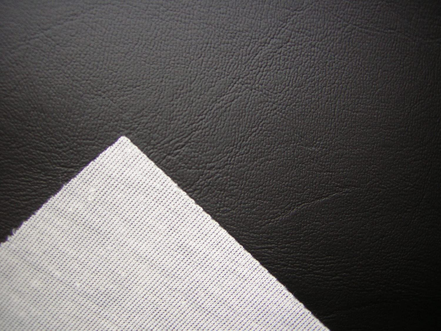 BLACK VINYL FAUX LEATHER FROM THE FABRIC BARN , LEATHERETTE UPHOLSTERY  FABRIC   ATLANTA By The Metre: Amazon.co.uk: Car U0026 Motorbike