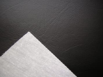 Amazon Com Black Vinyl Faux Leather From The Fabric Barn