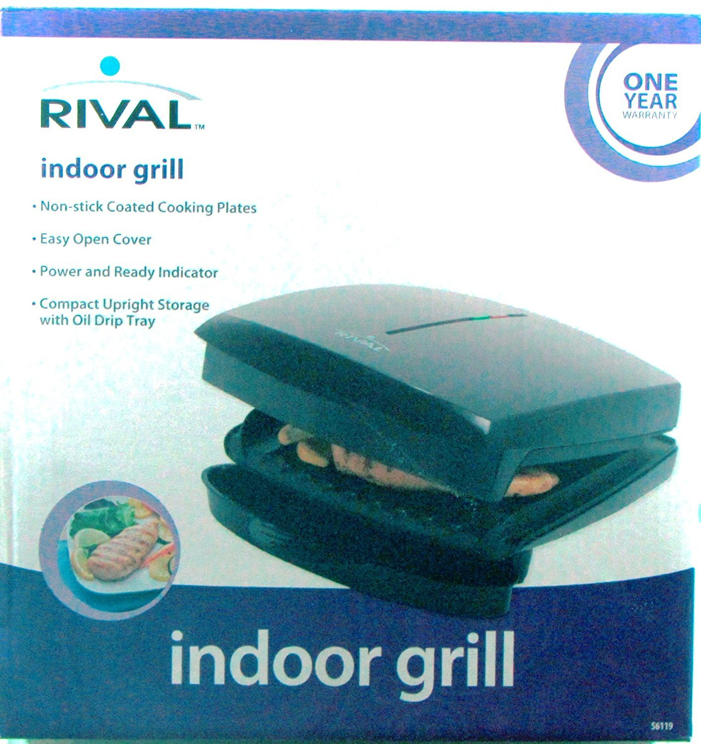 Amazoncom Rival Indoor Grill Kitchen Dining - Compact grill containers