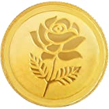 Malabar Gold & Diamonds 1 gm, 22k (916) Yellow Gold Coin