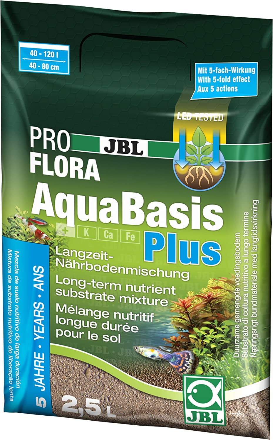 JBL Aquabasis Plus 2,5 L 2500 g
