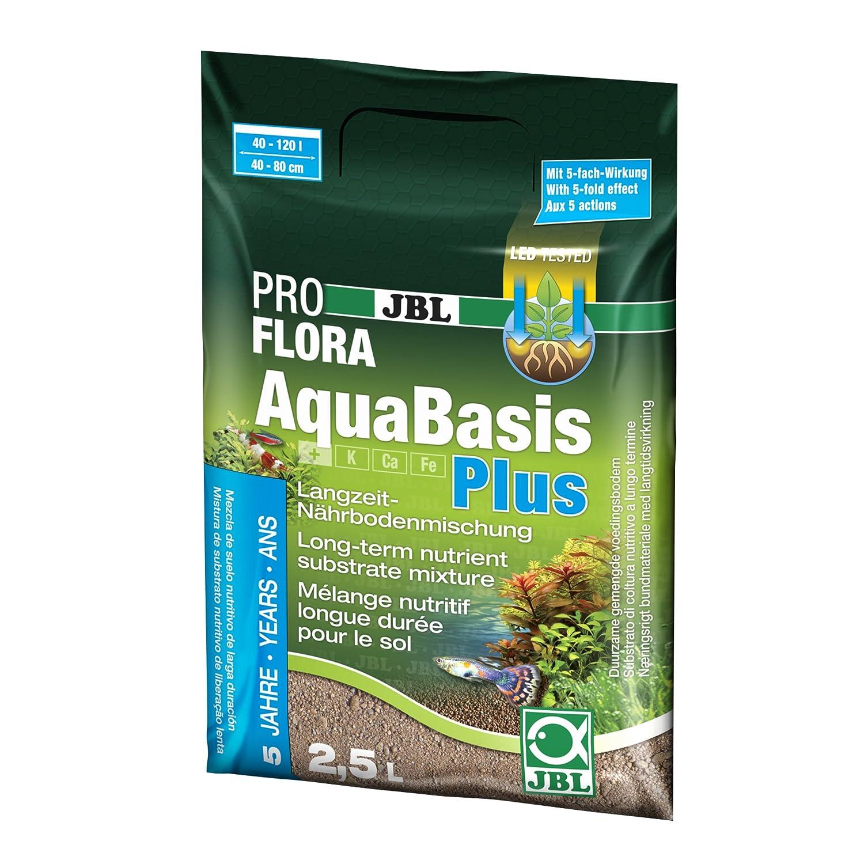 JBL 202120 Aquabasis Plus 100-200 Sustrato Nutritivo para Plantas de Acuario, 2.5 l