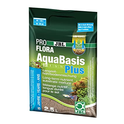 JBL Mezcla de suelos duradera, acuarios de agua dulce, AquaBasis plus, 5 l, 20212: Amazon.es: Productos para mascotas