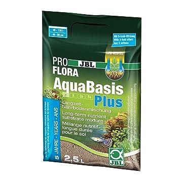 JBL 202120 Aquabasis Plus 100-200 Sustrato Nutritivo para Plantas de Acuario, 2.5 l: Amazon.es: Productos para mascotas
