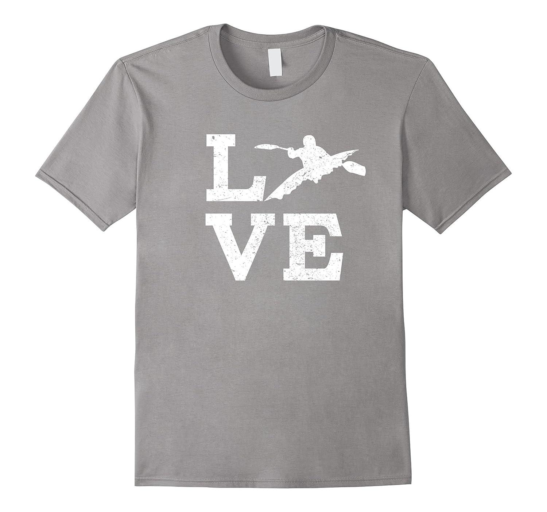 I Love Kayaking T-Shirt Funny For Coach Fan