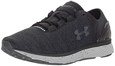 Under Armour Womens Charged Bandit 3 Black 001Glacier Gray
