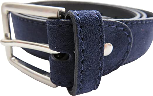 LEGADO Cinturón Hombre piel marino de cuero serraje marino hecho ...