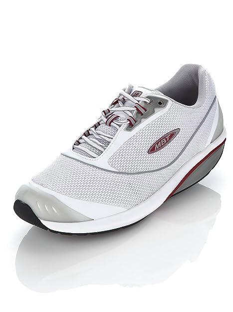 MBT Kimondo Negro Hombres de Calzado Deportivo, Color Blanco, Talla 44.5 EU: Amazon.es: Zapatos y complementos