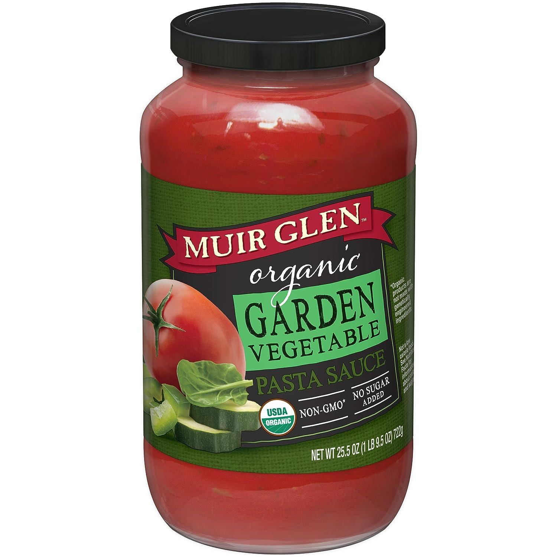 Muir Glen, Organic Garden Vegetable Pasta Sauce, 25.5 oz