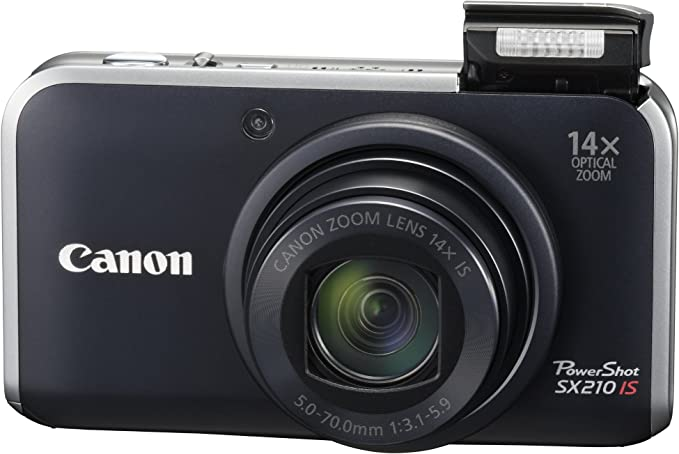 Canon SX210IS Black product image 11