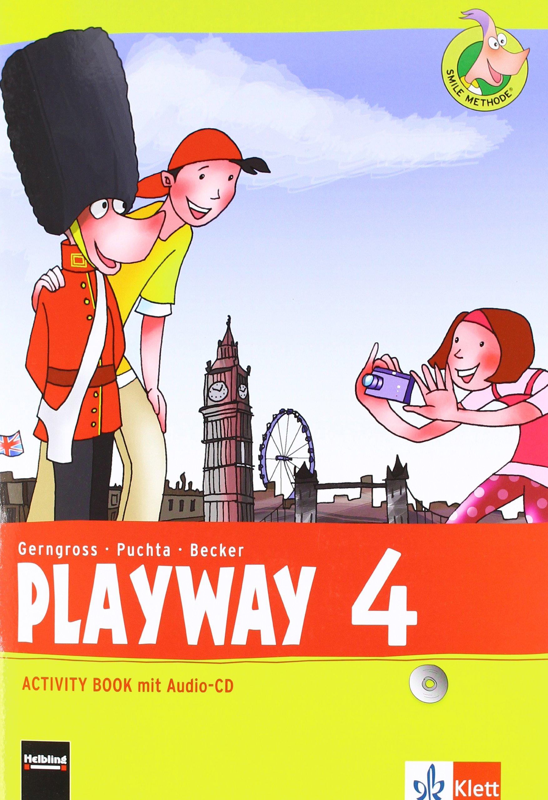 Playway 4. Ab Klasse 3: Activity Book mit Audio-CD Klasse 4 (Playway. Für den Beginn ab Klasse 3. Ausgabe ab 2013)