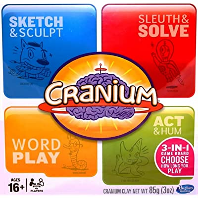 Cranium 3-in-1 Game Board (2014) 600 Cards: Toys & Games