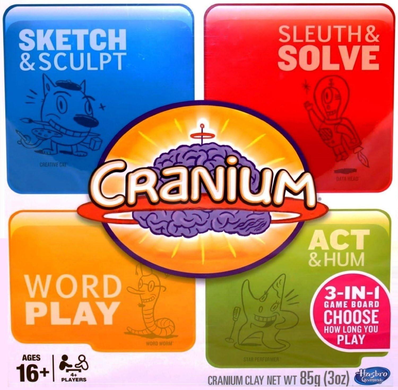 Hasbro Cranium 3-in-1 Game Board (2014) by: Amazon.es: Juguetes y juegos