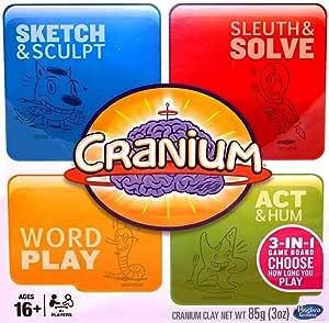Cranium 3-in-1 Game Board (2014) 600 Cards
