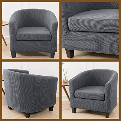 UK Armchair Tub Sofa Chair Covers Slipcover Protector Stretch Washable Cover