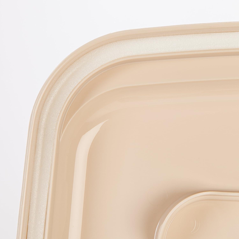 Pet Supplies : IRIS Premium Airtight Pet Food Storage Container, 42-Pounds, Almond : Pet Food Storage Products :