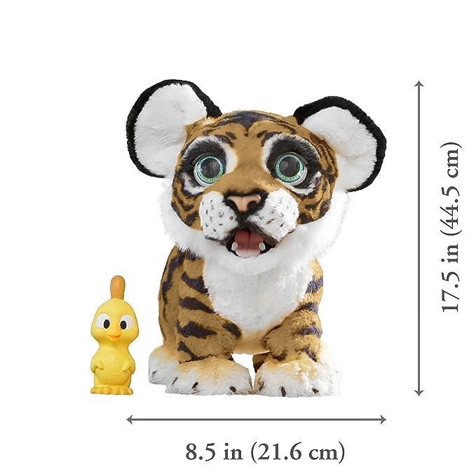 FurReal Friends - Tyler, mi Tigre jugueton (Hasbro B9071175) (versión en alemán): Amazon.es: Juguetes y juegos