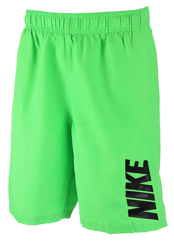 86d17efb38 Amazon.com  Nike Boys 8 Volley Swim Shorts - Green Strike (Medium)  Clothing