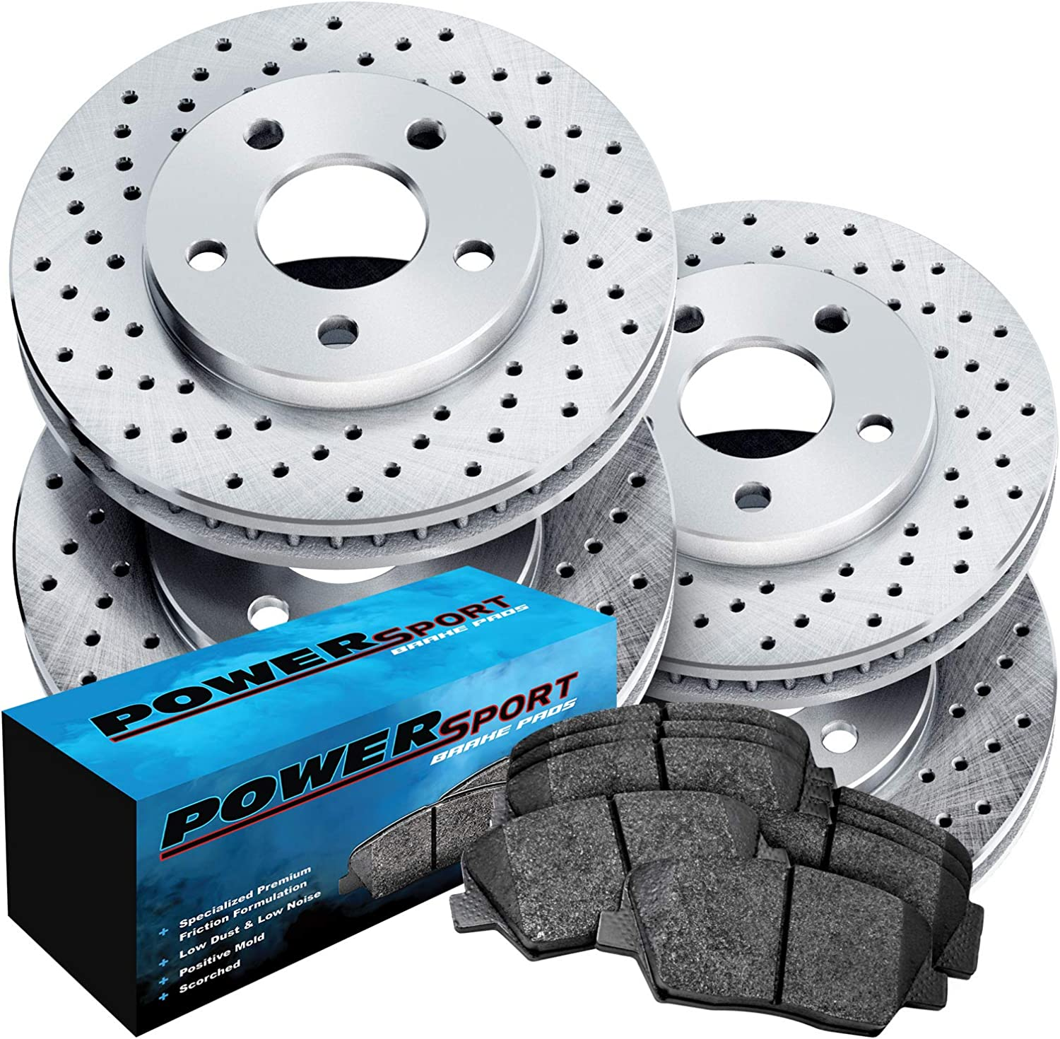MERCEDES A-CLASS QUALITY FRONT /& REAR BRAKE DISCS AND PADS CHECK SIZES
