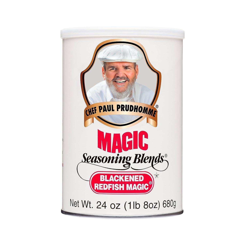 Chef Paul Blackened Redfish Magic Seasoning, 24 ounces, Packaging May Vary