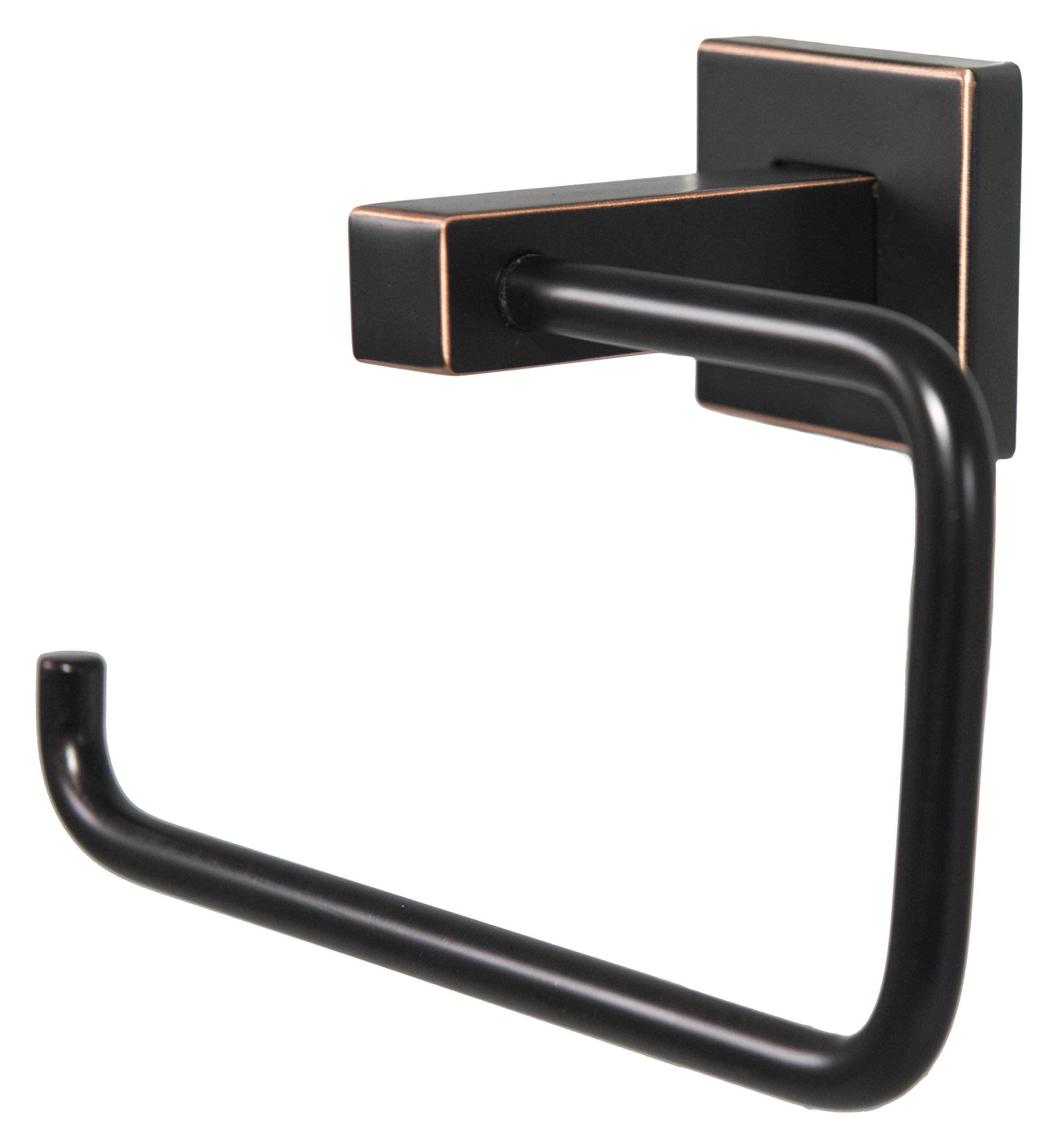 Preferred Bath Accessories 1004-ORB Primo Collection Towel Ring, Brushed Nickel, Oil Rubbed Bronze