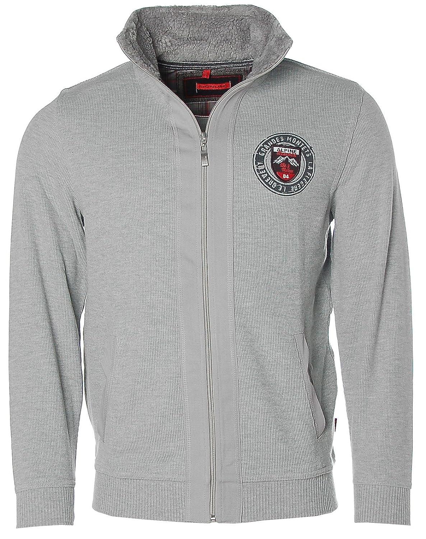 Signum ? Zip-Up Hoodie Sweatshirt Jacket Alpine Resorts Grandes Montets