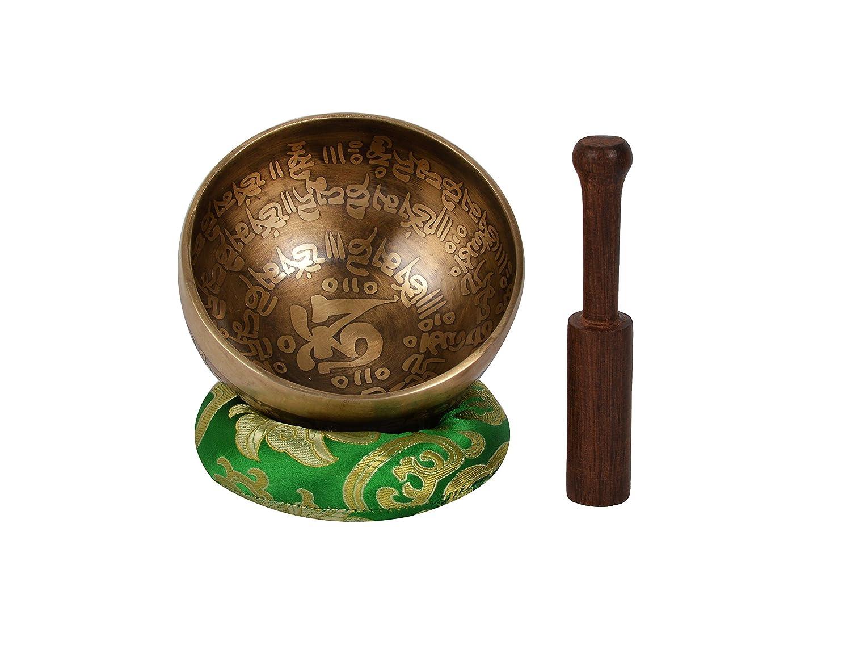 Bermoni Handmade Meditation Singing Bowl for Relaxation /& Healing-SP ANTIQUE-1
