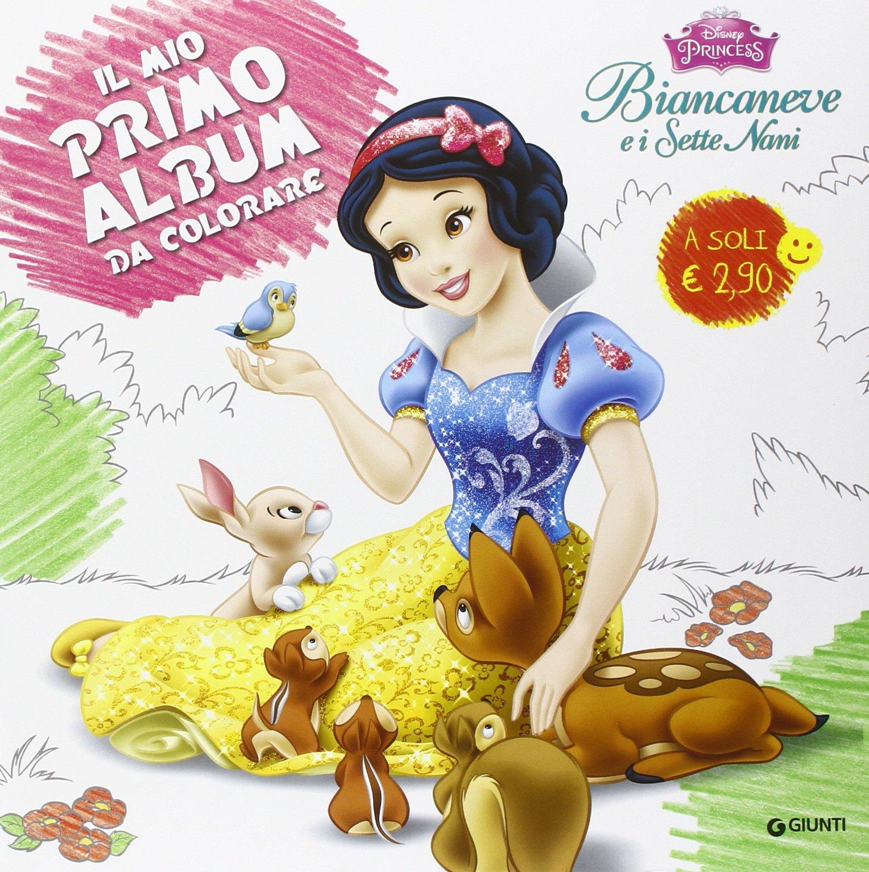 Amazonit Biancaneve E I Sette Nani Il Mio Primo Album Da Colorare