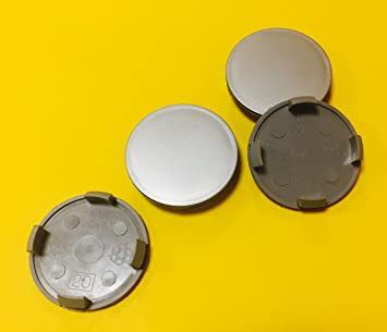 Embellecedores centrales para llantas de aleación de coche, 65/60 mm, 4 unidades: Amazon.es: Coche y moto