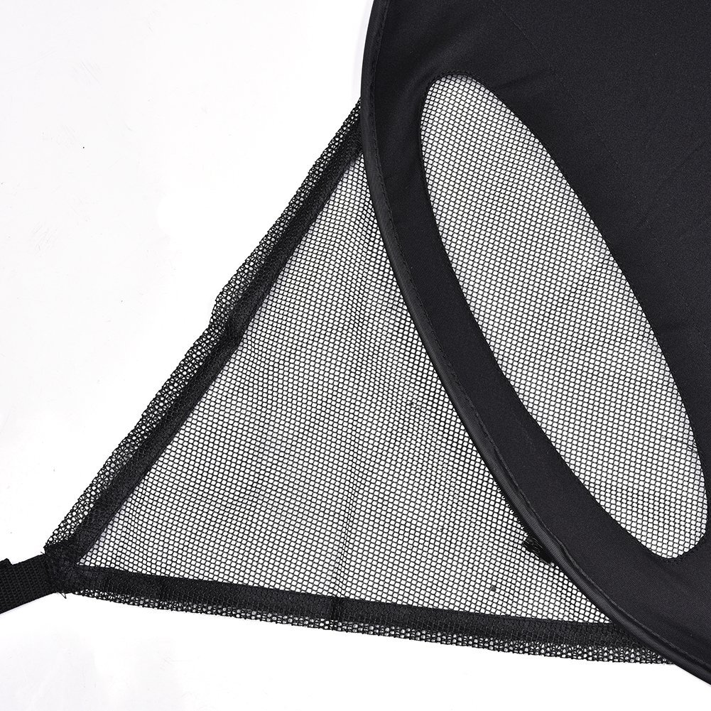 Eulan Baby Universal Anti-UV Windproof Insect Mosquito Repellent Sun Shade Original Stroller Sunshade and Blackout Blind Air-Permeable Fit Easy Installation /& Carry Bag