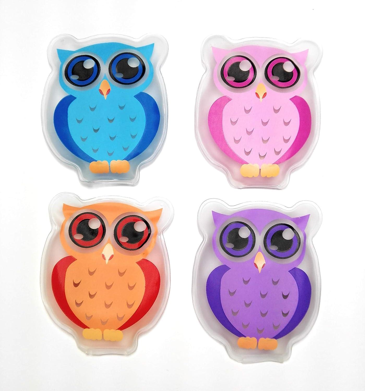Handw/ärmer Taschenw/ärmer Eule Owl 4er Set
