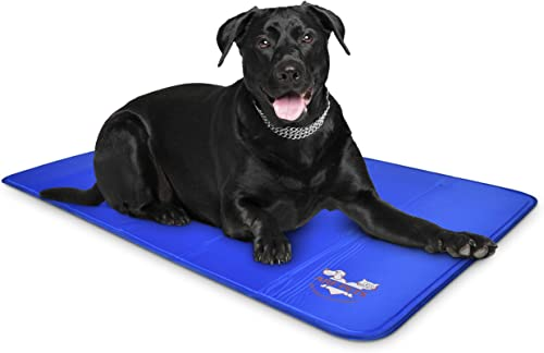 Pet-Dog-Self-Cooling-Mat-Pad-for-Kennels,-Crates-and-Beds-35x55