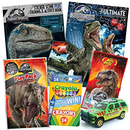 Amazoncom Colorboxcrate Jurassic World Fallen Kingdom
