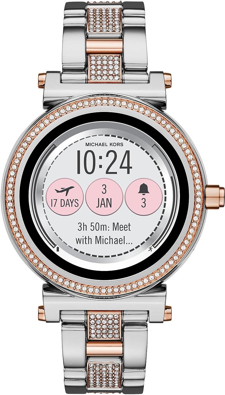 [マイケルコース]MICHAEL KORS 腕時計 SOFIE タッチスクリーンスマートウォッチ MKT5040 レディース 【正規輸入品】 B079TMQ8Q8
