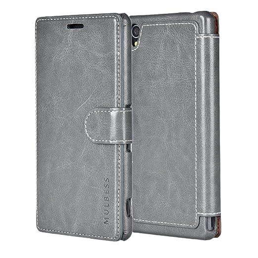 79 opinioni per Custodia Sony Xperia Z3- Cover Sony Xperia Z3- Mulbess Custodia In Pelle Con