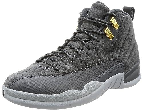 974248e5ea2 Amazon.com | Jordan 12 Retro Dark Grey Mens | Basketball