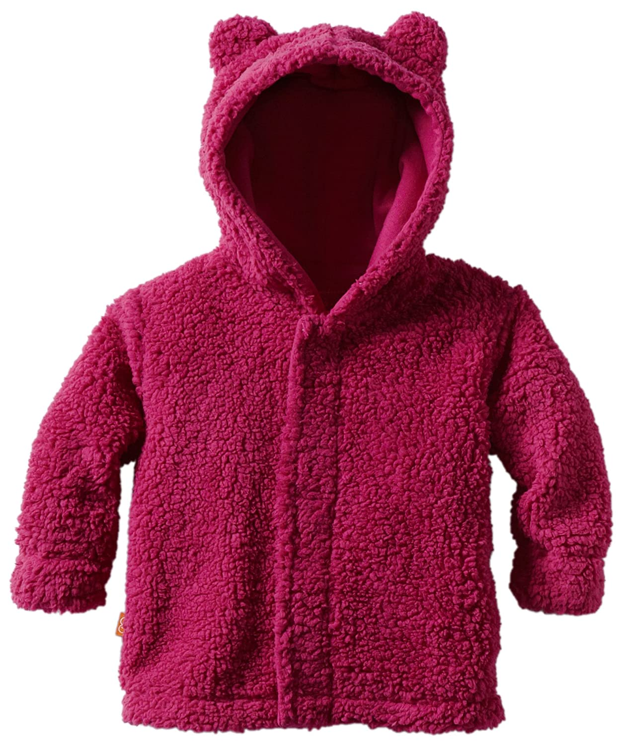 Magnificent Baby Girls' Magnetic Smart Little Bear Fleece Hooded Jacket Magnificent Baby Baby