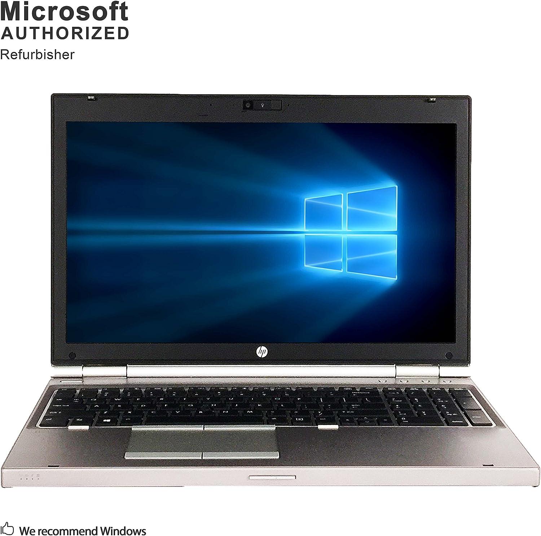 HP EliteBook 8570p 15.6 Inch Business Laptop, Intel Core i5 3210M up to 3.1GHz, 8G DDR3, 500G, WiFi, VGA, DP, Windows 10 64 Bit Multi-Language Supports English/French/Spanish(Renewed)