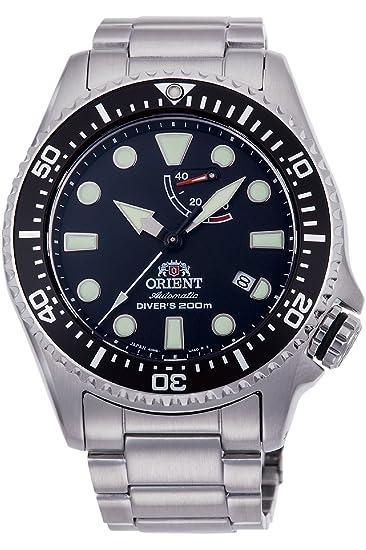 Orient Reloj Analógico para Hombre de Automático con Correa en Acero Inoxidable RA-EL0001B00B: Amazon.es: Relojes