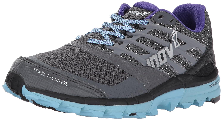Inov-8 Women's Trailtalon 275 Sneaker B01MSZWDOU W10 E US|Grey/Blue/Purple