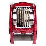 NUNI - World's First Tortilla Toaster (Red). 6 Hot