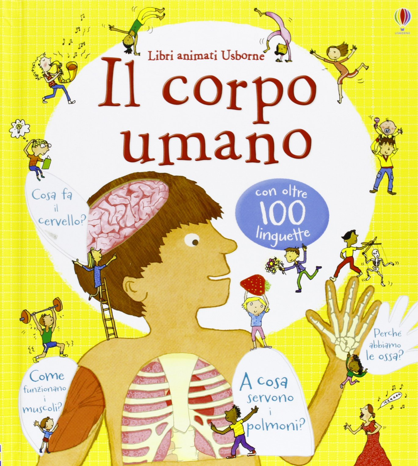 spesso Il corpo umano. Libri animati: Amazon.it: Louie Stowell, Kate  UQ13