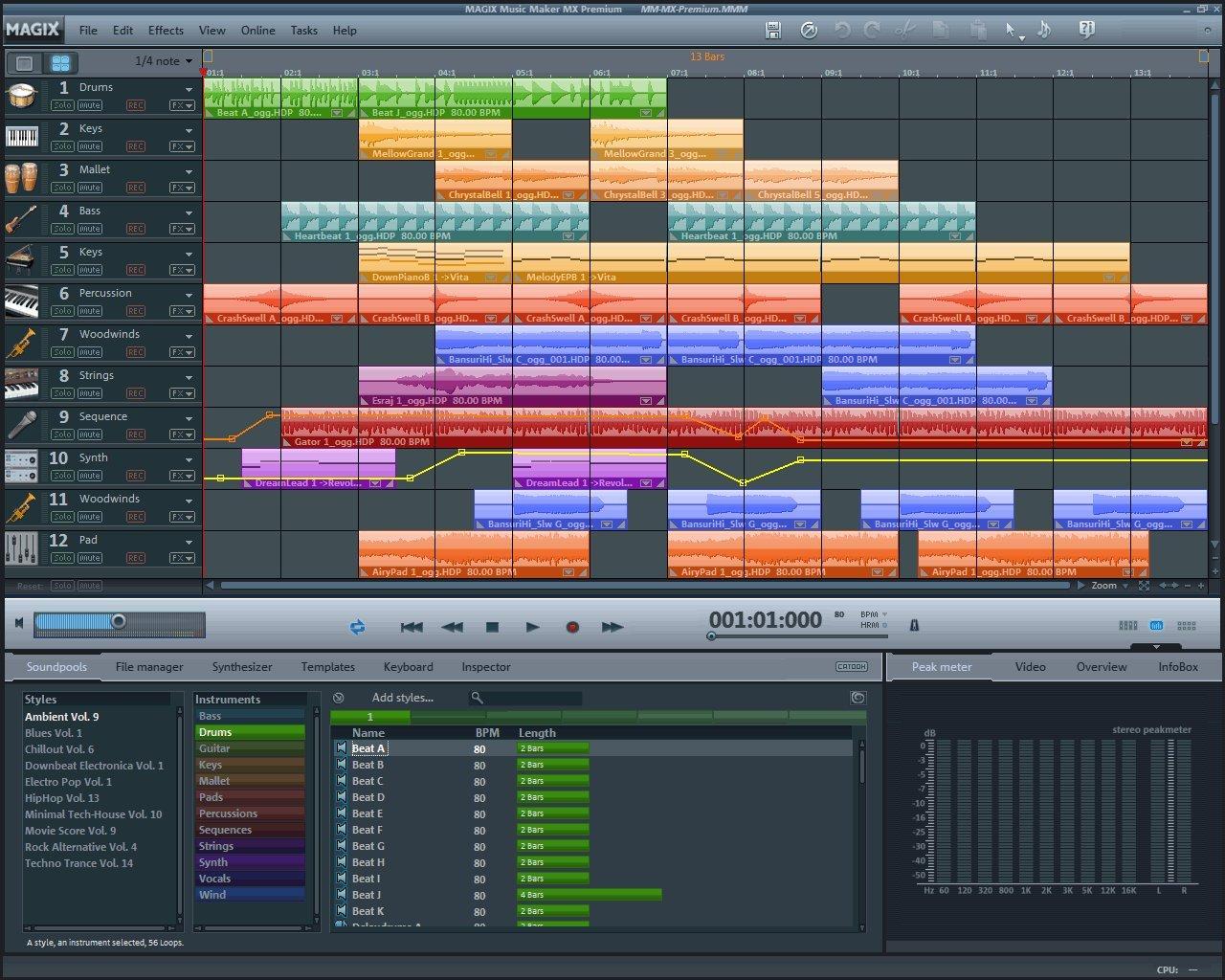 Music Maker MX Premium [Download] by MAGIX