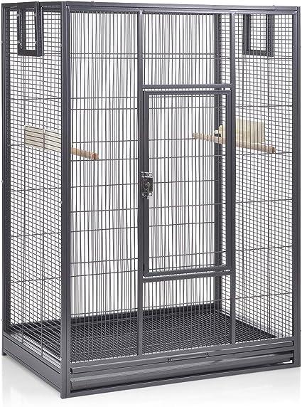 Montana Cages ® | Vogelkäfig Melbourne 80 - Antik erweiterbarer Käfig Voliere für Sittiche, Kanarienvögel & Finken
