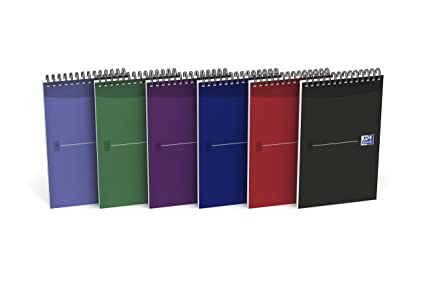 Oxford H80501 - Pack de 10 Libretas de 140 Páginas, 125x200mm ...