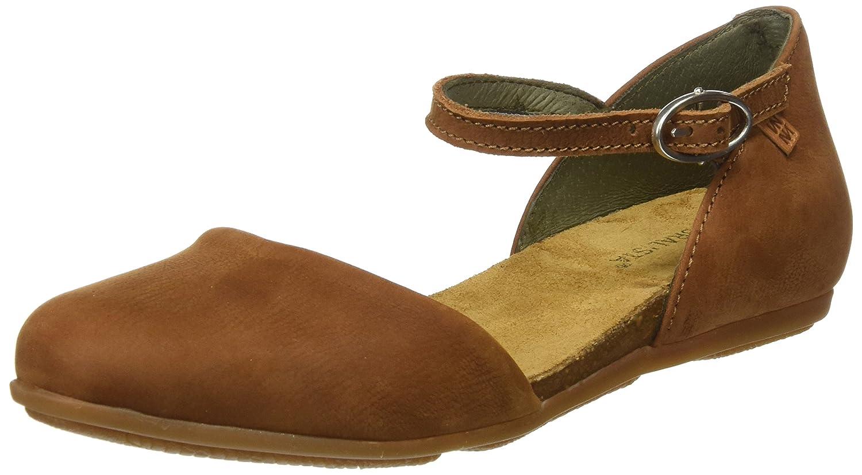 El Naturalista Women's Nd54 Stella Flat Sandal B01M1A0TRF 8 B(M) US|Wood 2